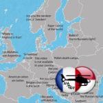 Составлена карта Европы с фразами, которые бесят жителей разных стран